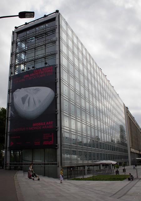 Expo Zaha Hadid à l'institut du Monde Arabe