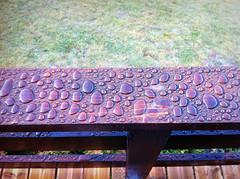 La Lauze (Ubaan) Tags: city morning travel france color nature water photoshop canon picasa jour raindrop ubaye barcelonnette