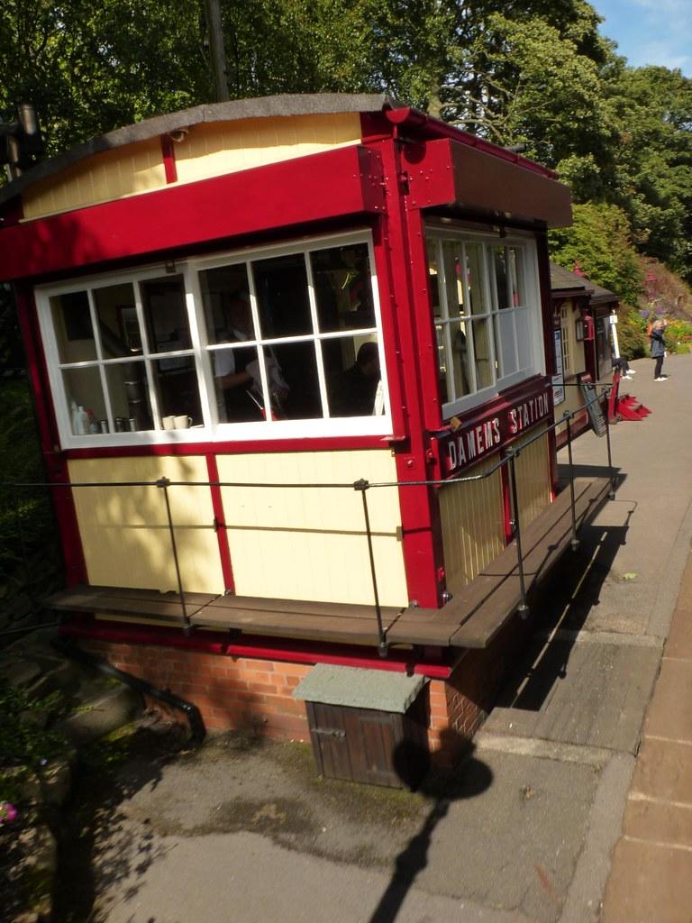 Signal Box, Damems Station