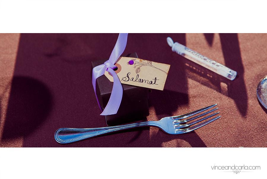 reception details spoon