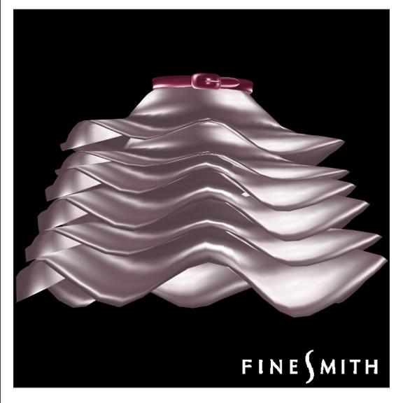 FINESMITH- Adva skirt wine