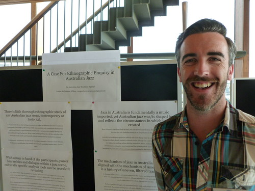 Lucian's poster presentation
