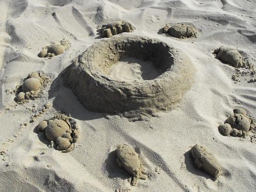 Bolos de areia