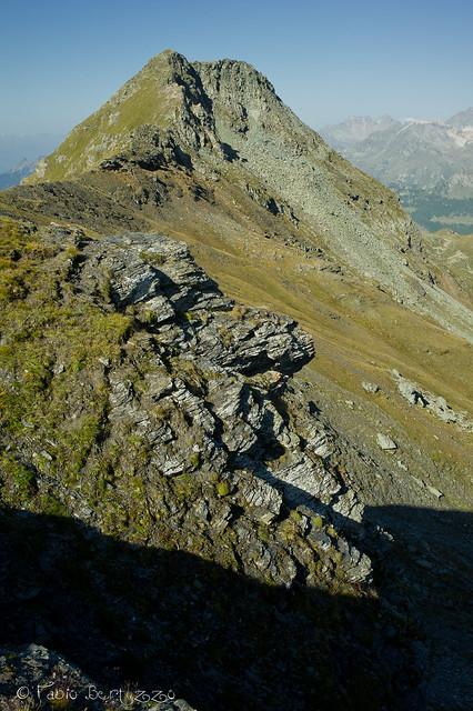 Punta Fallinère (2763 m s.l.m.) salendo al Passo delle Fontanette