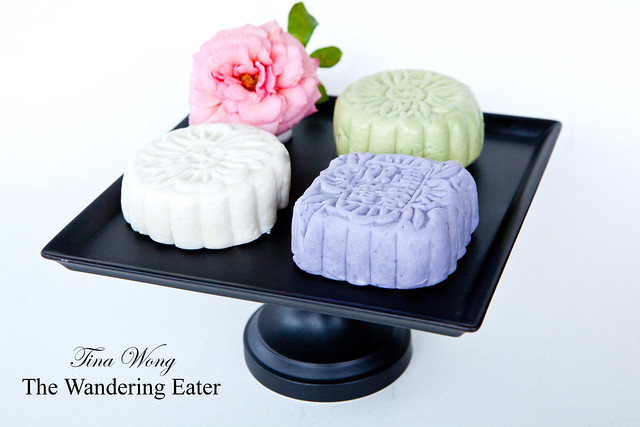 Homemade snow skin mooncakes (bing pei; 冰皮月餅)