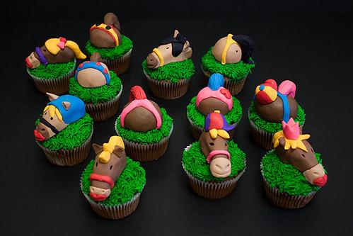 Horse Theme Cupcake