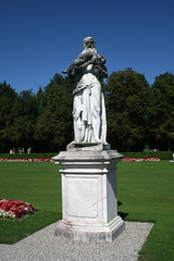 Saturn-Statue - Schlosspark Nymphenburg