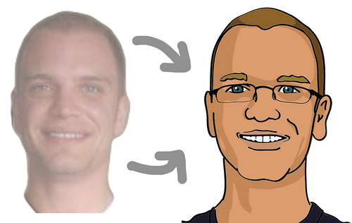 how to draw yourself as a cartoon