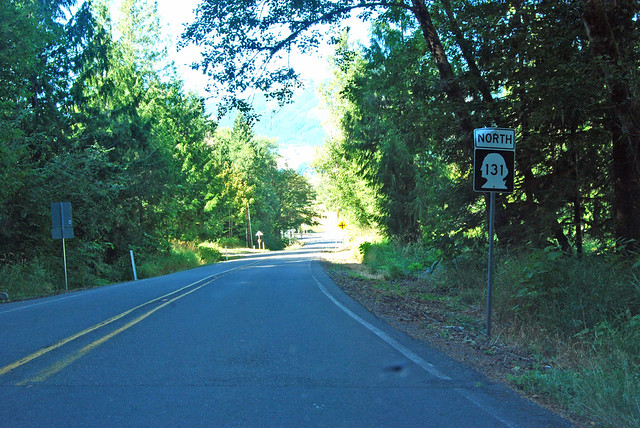 SR 131 @ Pinchot National Forest