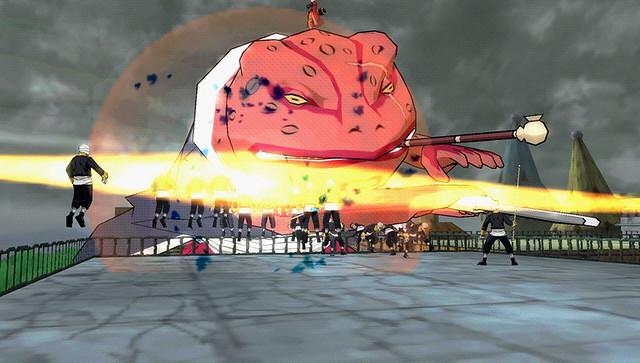 Naruto Shippuden: Ultimate Ninja Impact - Gamabunta