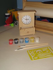 Creative Activities- Clock making