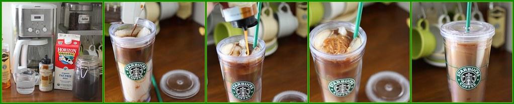 How to make a Starbucks Iced Caramel Macchiato