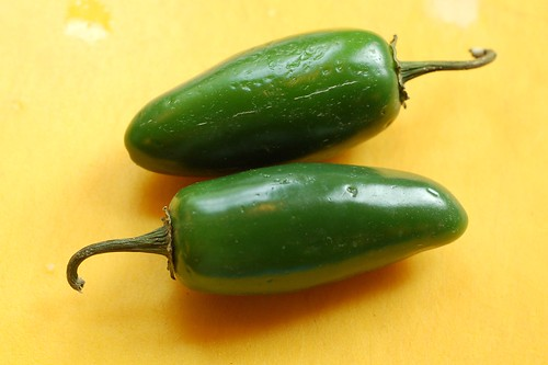 Some like it hot - jalapenos by Eve Fox, Garden of Eating blog, copyright 2011