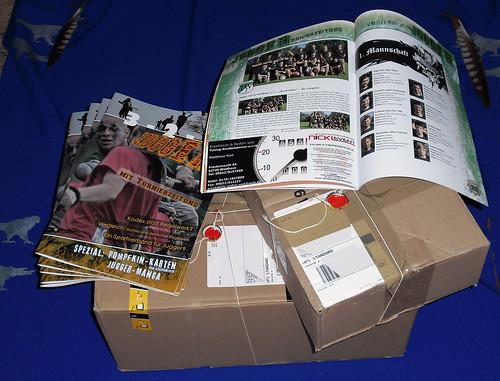 Jugger - Fanzine, verpackt und gesiegelt
