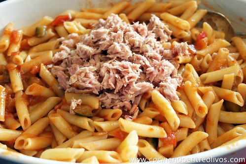 Macarrones gratinados www.cocinandoentreolivos (5)