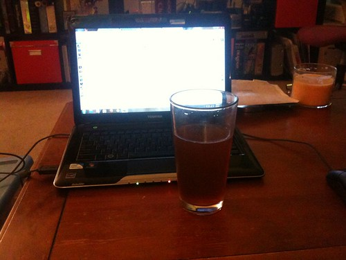 Writing the first blog