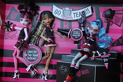 Monster High Fearleading Set