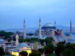 Aya Sophia (Istanbul) in the morning (Frans.Sellies) Tags: turkey trkiye istanbul turquie trkei hagiasophia turkije turquia ayasophia turchia ayasofya ayasofia turkei  sanctasophia      a sanctasapientia p1380375