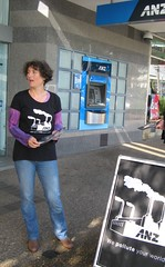 Community Protest at Sutherland ANZ (Greenpeace Australia Pacific) Tags: sydney greenpeace nsw coal sutherland climate banks finance anz cag sutherlandclimateactionnetwork dirtybanks dirtyanz