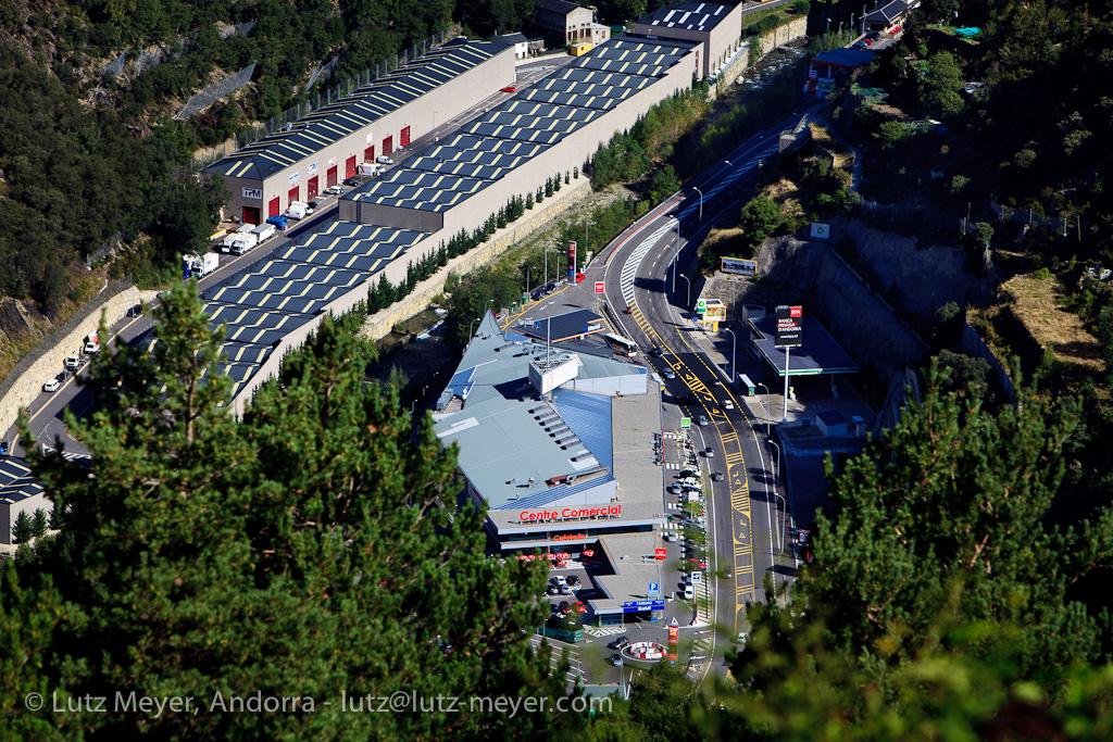 Andorra city-views: Sant Julia de Loria, Andorra