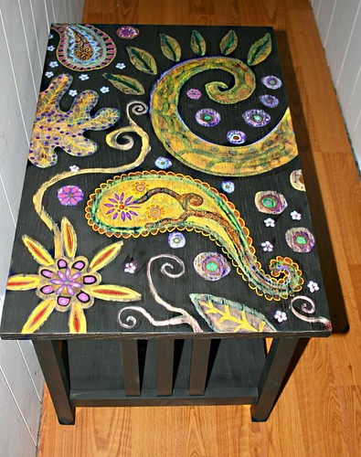 "Coffee Table 32"" x 21"" x 21"" by Rick Cheadle Art and Designs"