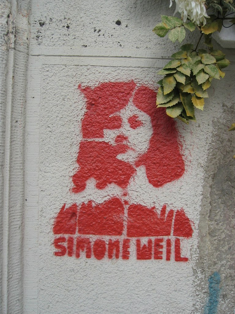Simone Weil immortalized
