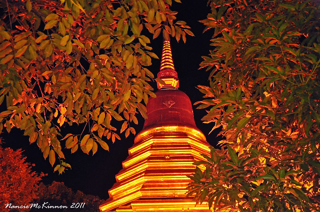 Golden Chedi in Chiang Mai