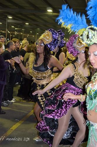 colores en la parada del candombe