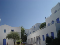 blue and white (dtsortanidis) Tags: blue white house greece dimitris dimitrios tsortanidis