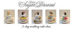 wedding cake class (Bettys Sugar Dreams) Tags: cake germany weddingcake hamburg class betty seminar hochzeit hochzeitstorte figuren torte kurs torten caketop hochzeitstorten sugarcraft sugarflowers tortenfiguren bettinaschliephakeburchardt bettyssugardreams blumenbltenpaste