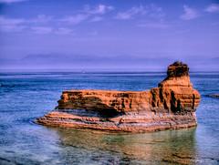 proud (@Sandra) Tags: sea water landscape coast rocks meer wasser greece corfu korfu griechenland landschaft sidari kste felsen 2011 kuste canaldamour