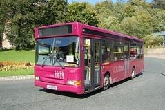 Yourbus Dennis Dart MPD 1501.LG02FFC - Durham (dwb transport photos) Tags: bus durham dennis dart 1501 mckindless yourbus lg02ffc