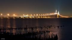DSC_1128-F (Sukha.img) Tags: ocean bridge light water night star flickraward