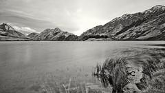 Moke Lake (Anton-17) Tags: new bw lake long exposure ben 110 tokina zealand nd queenstown lomond moke 1224 nd110