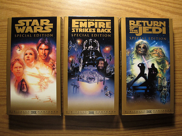 Star Wars Trilogy On VHS Special Edition