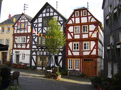 Fachwerkhäuser in Hachenburg
