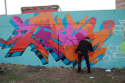 Meeting of Styles (MOS) 2011. 30th and Kedzie Avenue, Chicago IL. 2011 (Photograph by Nicolette Caldwell)