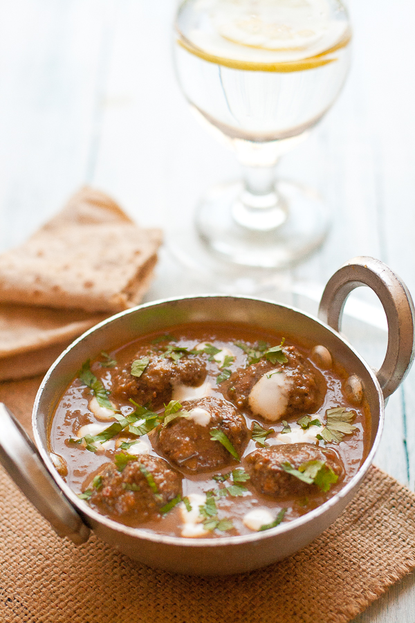 Lamb Kofta Curry