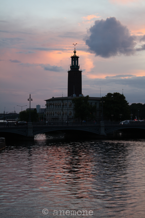 Stoccolma tramonto
