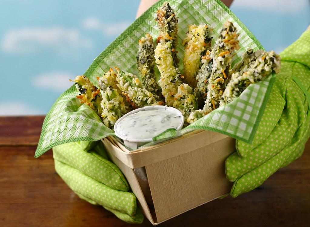 Green Garden Fries Recipe