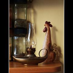 220   Today I have unpacked ... (Auntie P) Tags: chicken kitchen lamp herbs august jar aladdin jars oillamp genii 2011 project365 aladdinlamp august2011 2011yip geniilamp