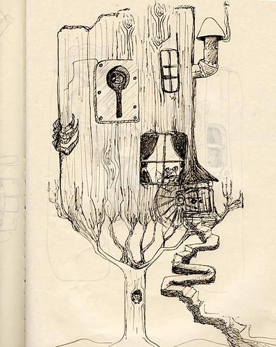Keyhole Treehouse