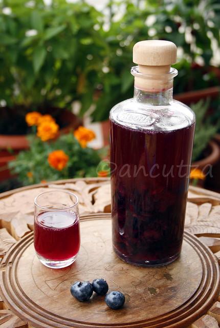 ricetta con foto liquore ai mirtilli