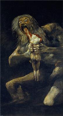《我が子を食らうサトゥルヌス》(《Saturno devorando a un hijo》)