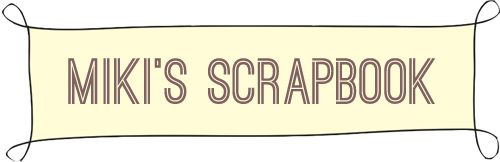 miki's scrapbook