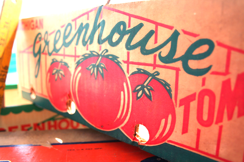 greenhouse tomatoes box