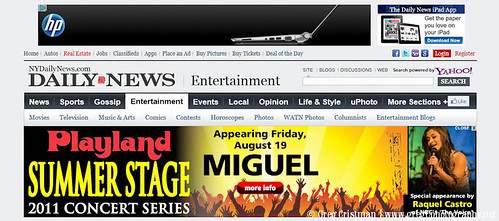 Raquel Castro At Music Tower Theater At Rye Playland Banner From NY Daily News Website.jpg by greg C photography™