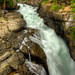 Waterfall in Custer National Forest on the Beartooth Highway