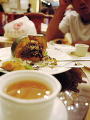 pumpkin sweet rice (Fion N.) Tags: food hongkong restaurant gourmet  kowloon    hongkongoldrestaurant