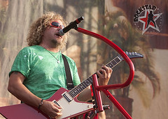 Sammy Hagar and the Wabos - Comerica Park - Detroit, MI - Aug 12th 2011